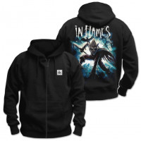 Толстовка - In Flames(Zip Hoody)
